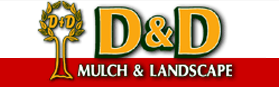 D∓D Mulch and Landscape Logo